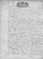 35 St Malo. Testament De  La Vve De Jean De La Rocle ( Ou Rothe ? ) De 1728. 2 Pages Complet Tb état.texte Très Riche. - Documents Historiques
