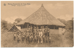 CONGO BELGE - Rungu, Groupe D'Ecoliers - Mission Dominicaine, Missions - Belgian Congo - Other