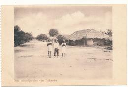 CONGO BELGE - Drie Schooljochies Van Lokandu -  Missions - Belgian Congo - Other