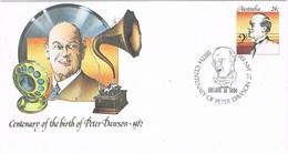 30531. Entero Postal ADELAIDE (Australia) 1982. Peter Dawson. Musik, Opera, Compositor - Enteros Postales