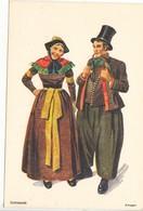 Danmark, Denmark, Amager, Danske Nationaldragter, National Costumes, Unused Postcard [22243] - Denmark