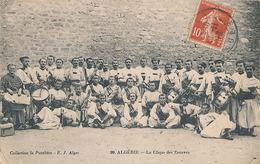 ALGERIE - N° 99 - LA CLIQUE DES ZOUAVES (MILITARIA) - Algeria