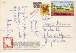 3073  AK-- TANZANIA  --LJUBLJANA - Tanzania