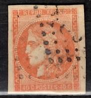 France Bordeaux YT N° 48 Oblitéré. Belles Marges, Beau Timbre Sans Défaut.  A Saisir! - 1870 Emission De Bordeaux