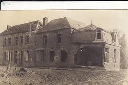 Photo Octobre 1916 FINS - Une Maison Détruite (A181, Ww1, Wk 1) - France