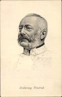 Artiste Cp Erzherzog Friedrich Von Österreich Teschen, Portrait - Königshäuser