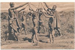 SUDAFRIKA - Kaffernjungen Beim Kampfspiel - Missions - South Africa