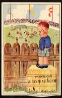 Postkaart / CPA / Postcard / 3 Scans / Bonjour De Schaerbeek / Schaarbeek / Unused - Greetings From...