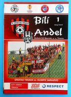 FC SPARTAK TRNAVA Vs FK OLIMPIK SARAJEVO - 2015. UEFA EUROPA L. Football Match Programme Soccer Fussball Foot Programm - Tickets D'entrée