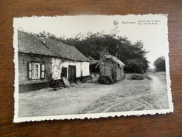 OUDE    Postkaart  Weg Naar De Molen  KEERBERGEN - Keerbergen
