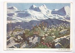 Der Berg Bluht, Mit Dem Munde Gemalt, Unused Postcard [22248] - Paintings