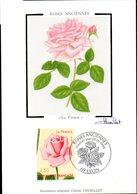 CP  Cachet PJ 28/05/1999 à LYON - Rose Ancienne (La France) N° 3249 - Roses