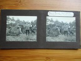2/41 Photo Stéréoscopique Guerre 14/18 - Bois De Piemont (Hiver 1914-1915) Le Lt. St. Ursy & Le Lt. Pierre Gourbis - - Stereo-Photographie