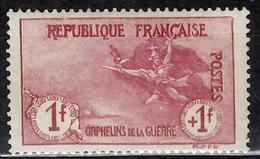 France Orphelins YT N° 154 Neuf *. Belle Gomme D'origine. B/TB. A Saisir! - France