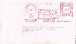30539. Carta MADRID 1996. Franqueo Mecanico SAN FRANCISCO JAVIER, Apostol De Japon - 1931-Aujourd'hui: II. République - ....Juan Carlos I