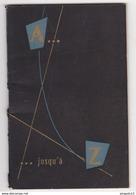 Au Plus Rapide Agenda Publicitaire Hôtel Relais Du Négresco Année 1954 Nice Excellent état - Calendriers
