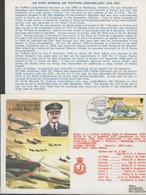 3344  Carta  Flow Flight , Vuelo,  Gibraltar, Sir Trafford L. Leigh Mallory, Museum ,1978 - Gibraltar