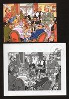 BELGIUM LAMBIK // ZWART WIT CARTOON POSTFRIS // NEUF GOMME FRAICHEUR POSTALE - Blocs 1962-....