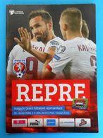 CZECH REPUBLIC Vs KAZAKHSTAN - 2015. UEFA EURO Qual. Football Match Programme Soccer Fussball Programm Programma Calcio - Tickets D'entrée