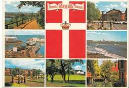 Denmark, Multi View, 1981 Used Postcard [22257] - Denmark