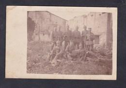 Carte Photo Allemande Guerre 14-18 Feldwache In Rhin De Bois ( Gremecey Moselle 57) Garde Deutsche Armee - Otros Municipios