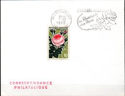 Flamme De L'HAY.les ROSES (94)  Du 7/12/70 - Rose N° 1357 - Roses
