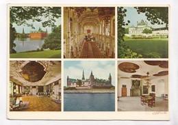 Frederiksborg Palace, Fredensborg Palace, Kronborg Castle, Denmark, Unused Postcard [22258] - Denmark
