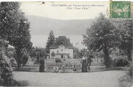 CHAVOIRES Par Veyrier Du Lac (74) Villa Nommée Fleur D'Eau Animation - France