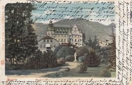 BOZEN-BOLZANO-NOE DENKMALU U.HOTEL BRISTOL VOM STADTPARK AUS-CARTOLINA-VIAGGIATA IL 29-6-1903? - Bolzano