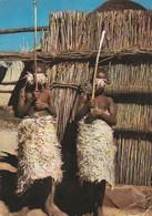 BASUTOLAND ENFANTS BASUTOS PARES POUR L INITIATION CARTE PUBLICITAIRE AMORA DIJON MOUTARDE - South Africa