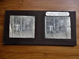 7/41 Photo Stéréoscopique Guerre 14/18 - MOURMELON - Hiver 1914-1915 - PC Du 78 Eme L' Abbe De Breme Celebrant La Messe - Stereo-Photographie