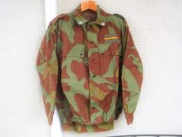 Giacca Pantaloni Mimetica M29 Maresciallo E.I.  Anni '70/80 Marcata Completa Ottima Tg. XL - Divise