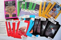 Peu Courant Jeu De Cartes Vintage 1982 Parker Film E.T. L'extraterrestre Steven Spielberg Kartenspiel Der Ausserirdische - Merchandising