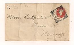 Briefumschlag Ohne Inhalt 27.11.1896 - Newcastle - Covers & Documents