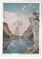 Edelweiß Am Königssee, Erich Stegmann, Unused Postcard [22266] - Paintings