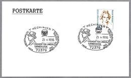 FREIHERR VON LANGEN (1887-1934) -  Oro Olimpico Hipica - Olympic Gold Medal. Hechingen 1996 - Juegos Olímpicos