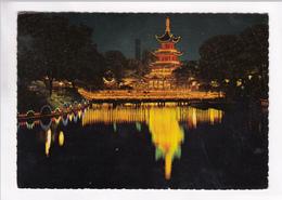 COPENHAGEN, KOBENHAVN, TIVOLI, Kinesisk Tarn, Chinese Tower, Unused Postcard [22268] - Denmark