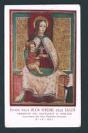 B.V DELLE GRAZIE - Santuario Di Binzago - E - PR - Mm. 70 X 113 - Religion & Esotérisme