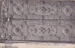 LA PORTE A BIJOUI DE EMAM REZA A MECHED-PERSE. SEYED ABDOR RAHIME KACHANI CIRCA 1910s -RARISIME- BLEUP - Iran