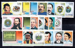 Serie De Cuba N ºYvert 2879/98 (**) - Cuba