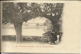 Environs De BAYONNE , Sur Les Bords De La Nive , CPA ANIMEE - Bayonne