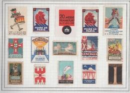 LOTE DE 15 VIÑETAS EXTRANJERAS. - Stamps