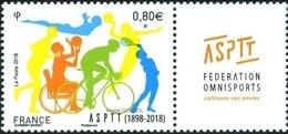 "France Handisport N° 5208 ** Fédération Omnisports, ""Cultivons Vos Envies"" - Handisport"