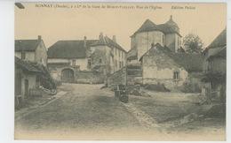 BONNAY - Rue De L'Eglise - Autres Communes