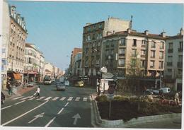 Hauts De  Seine :  - ASNIERES - BOIS  COLOMBES :  Place  Des  Bourguignons  (  Voiture - Bus) - Asnieres Sur Seine