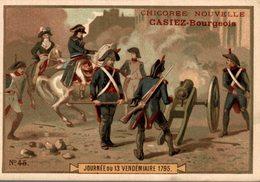 CHROMO CHICOREE NOUVELLE CASIEZ-BOURGEOIS  CAMBRAI JOURNEE DU 13 VENDEMIAIRE 1795 - Otros