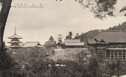 Rare Cpa Japon Années 50 Vue Du Temple Kiyomizu - Nagoya