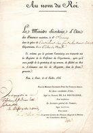 COTES DU NORD  22 DOCUMENT ARCHIVE  ST SAINT BRIEUC PONT 1816 SERCOCQ LA FLECHE - Historical Documents