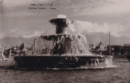 SHAHNAZ SQUARE, TEHERAN. CIRCULEE CIRCA 1935's TO ENGLAND-TBE-RARE -RARE- BLEUP - Iran