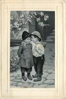 Thèmes > Fantaisies >EN SOIE  ENFATS  VOIR IMAGES - Fancy Cards